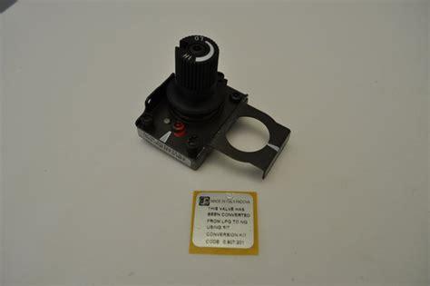 sit manual highlo natural gas valve conversion kit