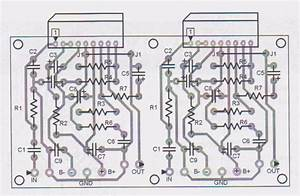 Tda1514 40 Watt Audio Amplifier Circuit