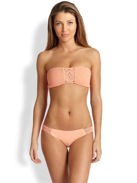 eriko hatsune bikini lyst tori praver swimwear chelsea macrame bandeau bikini