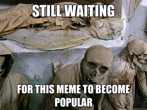 Skeleton Computer Meme - waiting skeleton meme maker image memes at relatably com