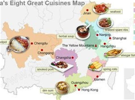 cuisine by region china 39 s regional cuisines food types south
