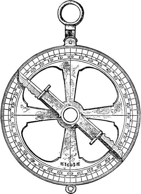 Later Astrolabe | ClipArt ETC