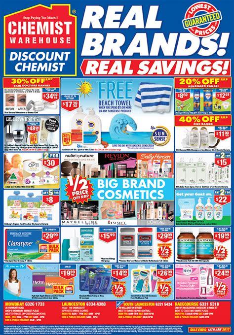 chemist warehouse catalogue ads on behance