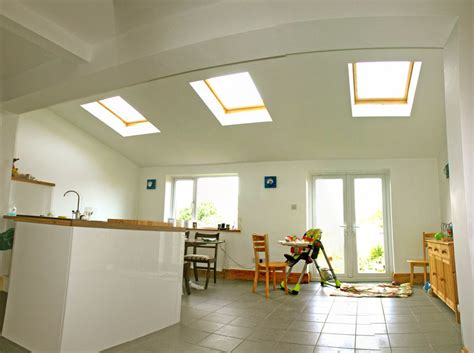 ideas for kitchen extensions high vaulted ceilings such a difference to space