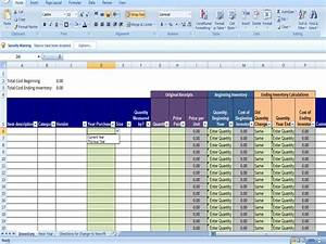 annual inventory template beginning and ending year With excel shipping tracking template