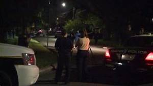 Police search for stolen car after man shot and killed