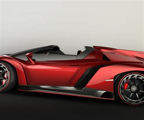 Lamborghini Veneno Roadster Packs 750hp V12 Under Its