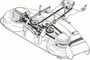 craftsman 42 deck belt diagram pictures to pin on