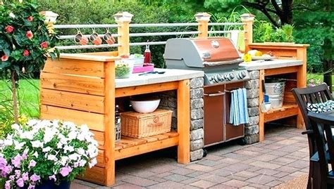 diy outdoor kitchen designs diy outdoor kitchens and grilling stations style motivation 6871