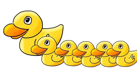 Five Little Ducks (5 Little Ducks) Children's Song
