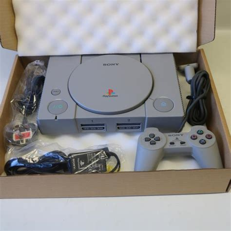 Ps1 Console Original Grey Sony Ps1 Playstation One 1 Psone