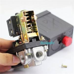 New Air Compressor Pressure Valve Switch Manifold Relief
