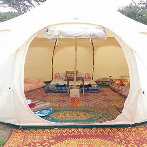 Lotus Belle tent hire - Happy Glamper