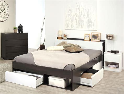 Jugendzimmer Morris 37 Kaffee Bett 140x200 Kommode Nako