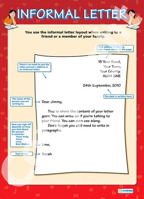 informal letter format my pages how to write an informal letter 67770