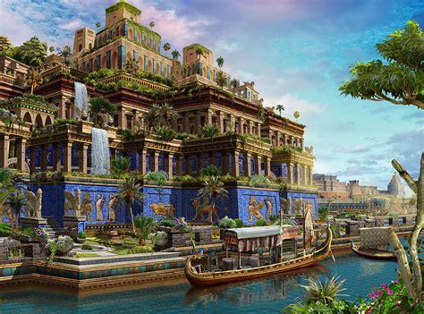 Hanging Gardens Of Babylon Wallpaper WallpaperSafari