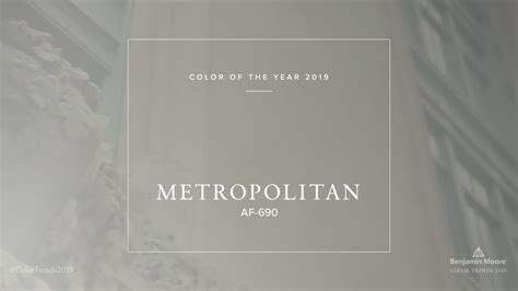 color of the color of the year 2019 benjamin