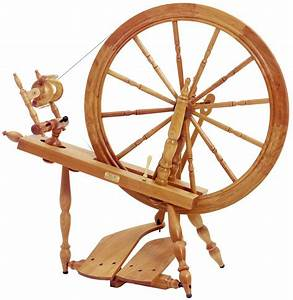 """Schacht - Reeves Spinning Wheel 30"""" Double-Treadle"""