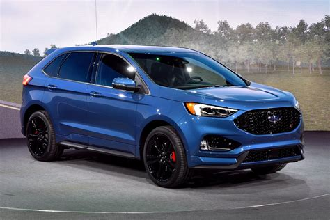Ford 2019 : 2019 Ford Edge St Brings A Class-leading Twin-turbo V6 To