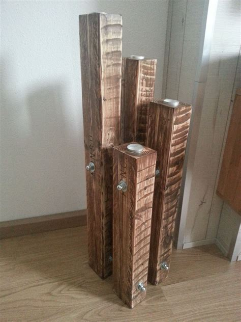 candle holder chandelier   recycled pallets