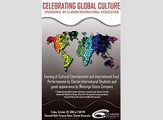 """Celebrate Global Cultures"" theme for international night"