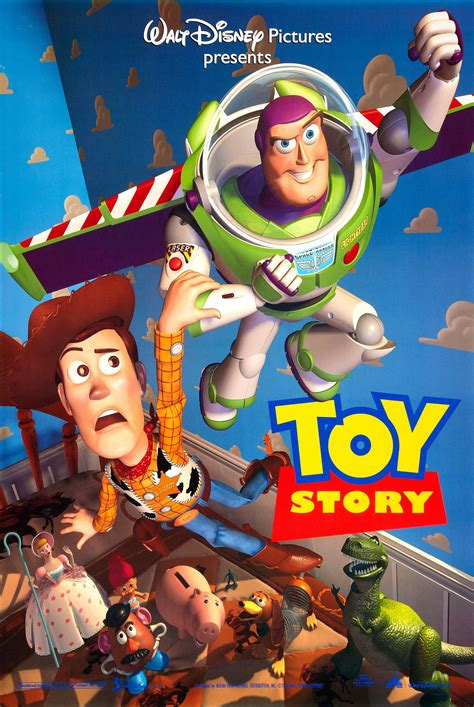Toy Story (1995) - Computer Animation history-CGI!