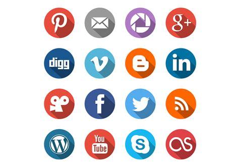 Social Media Icons Vector Social Media Icons Vector Set Free Vector