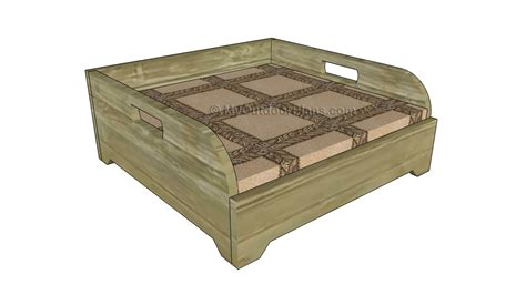 dog bed plans myoutdoorplans  woodworking plans
