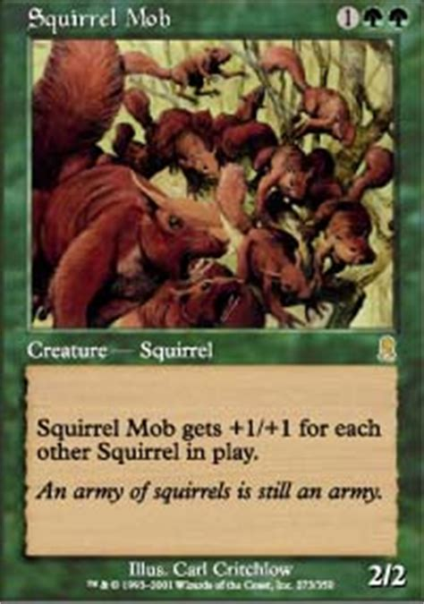 Squirrel Nest Mtg Deck by Squirrel Nest Conspiracy Magic The Gathering