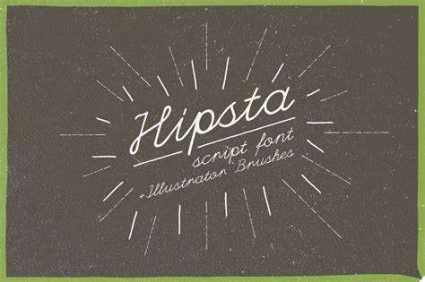 retro vintage inspired cursive script fonts