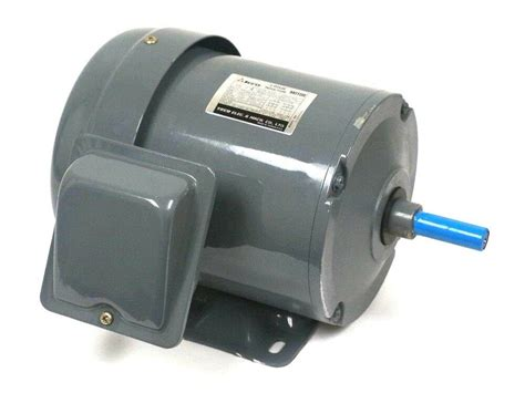 Induction Electric Motor by New Teco Electric 31045h200 3 Phase Induction Motor 1 2hp