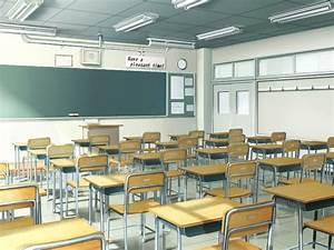 anime classroom - Google Search | Anime scenery, Anime ...