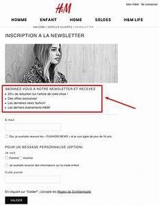 H M Newsletter : augmentez le nombre d 39 abonn s votre mailing list ~ A.2002-acura-tl-radio.info Haus und Dekorationen