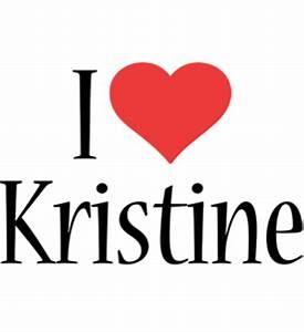 Kristine Logo | Name Logo Generator - Kiddo, I Love ...