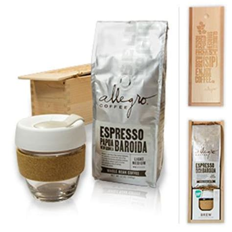 Allegro coffee is an environmentally friendly company that was founded in the 1970s eventually becoming one of the first specialty brands in the 1980s. Single Origin Espresso Gift Set | Allegro Coffee Company | Whole Foods Market