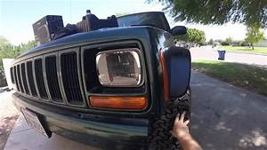 2001 Jeep Cherokee Headlight Replacement Trucklite Leds