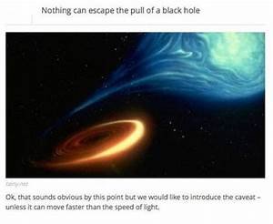 Interesting Facts About the Black Holes - Barnorama