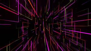 VJ Colorful Neon Light Dance Background by HK_graphic ...