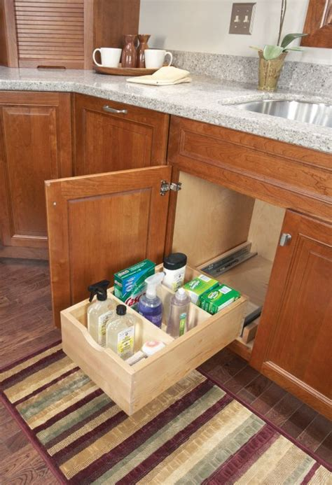 dyi kitchen cabinets 1000 images about kitchen sink storage on 3494