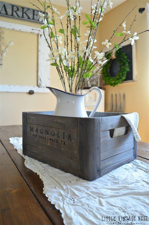 ways  style  wooden crate  vintage nest