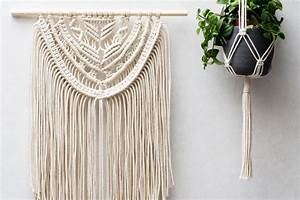 Macrame Wall Hangings & Plant Hangers - Buy or DIY