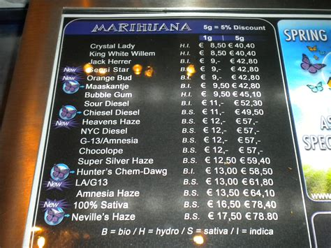 A source of amsterdam coffeeshop menus information for tourists and locals living and traveling to the netherlands. Coffeeshop Hunters - Hunters Coffeeshop