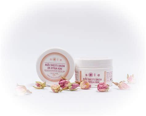 Rožu sviests sausai un jutīgai sejas ādai