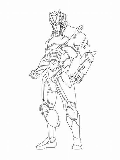 Omega Fortnite Coloring Pages Colouring Printable Peely
