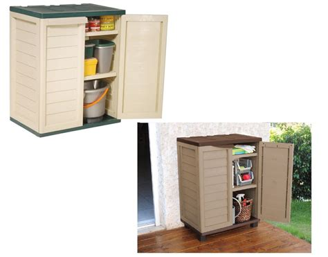 plastic garage storage cabinets uk garden indoor outdoor garage storage low utility cabinet