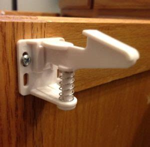 Child Proof Latches For Cupboards by Baby Proofing Cabinet And Drawer With Locks And Latches