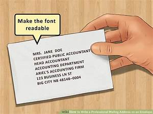 how to write a professional mailing address on an envelope With how to send a shipping label to someone