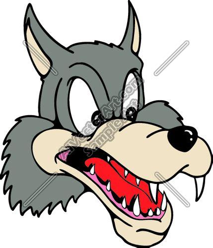 big bad wolf clipart  clip art