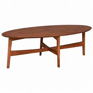 solid wood amish living room furniture lodi mid century With oval solid wood coffee table