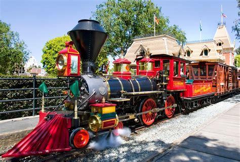 ck holliday    steam engines   disneyland